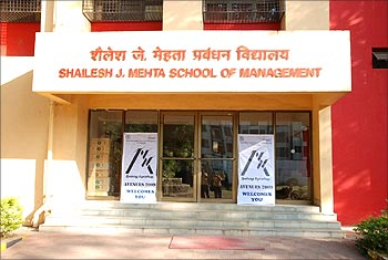 Shailesh J Mehta School of Management at IIT-Bombay.