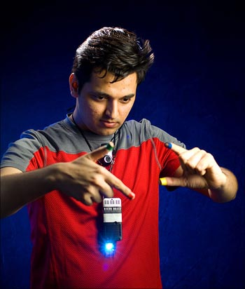 Pranav Mistry is the genius behind SixthSense, a wearable device