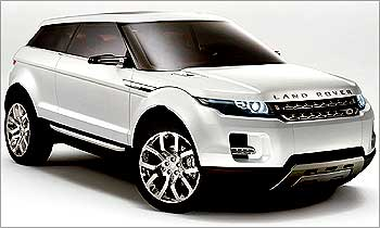 Land Rover now in India.