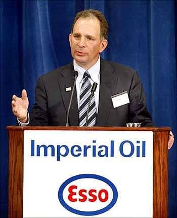 Imperial Oil CEO Bruce March.