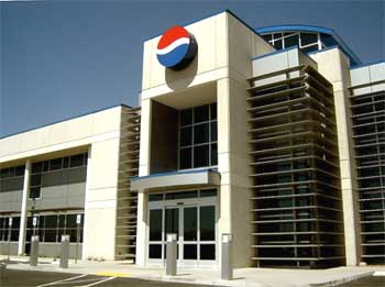 A Pepsi office.