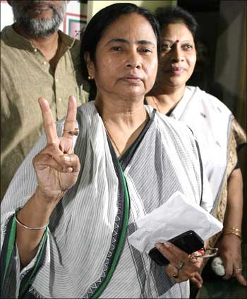 Trinamool Congress chief Mamata Banerjee.