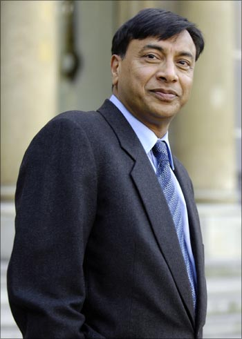 Arcelor Mittal chairman Lakshmi Mittal.