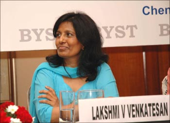 Lakshmi Venktaraman Venkatesan, founding trustee and executive vice president of Bharatiya Yuva Shakti Trust.