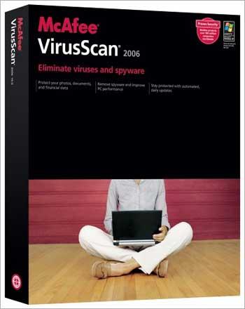 McAfee VirusScan.