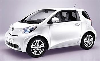 The Toyota iQ.