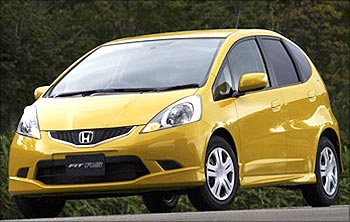 The Honda Jazz. Honda will soon laun