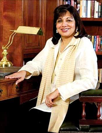 Kiran Mazumdar-Shaw, MD, Biocon.