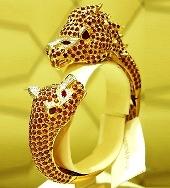A gold bangle
