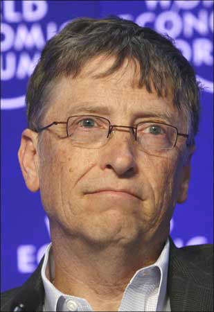 Microsoft czar Bill Gates is America's richest person.