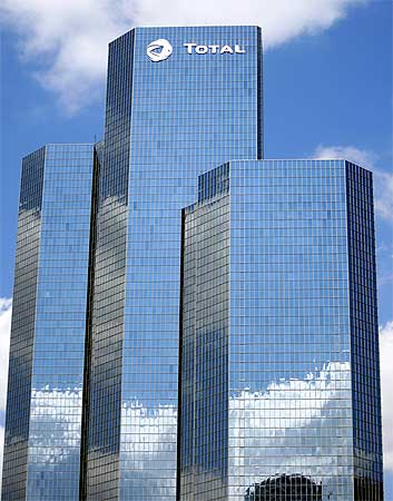 Headquarters of French energy major Total.