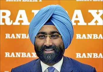 Malvinder Singh, former CEO of Ranbaxy.
