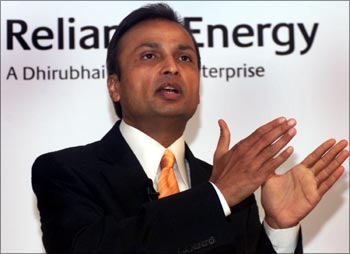 Anil Ambani, chairman, Reliance Infrastructure.