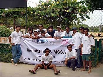 IndiaKhelo team after super successful event in Mumbai.