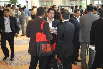 The gathering at the PanIIT event.