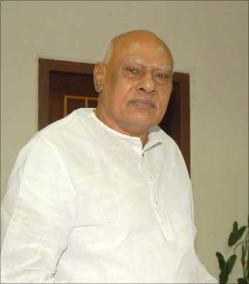 Andhra Pradesh Chief Minister K Rosaiah