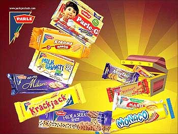 Parle biscuits.