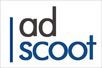 AdScoot logo.