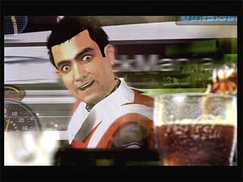 Actor Aamir Khan in the new Coca-Cola ad.