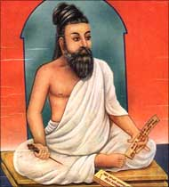 Thiruvalluvar, author of Thirukkural