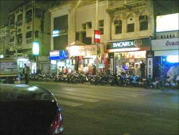 M G Road, Pune's famous shopping centre.