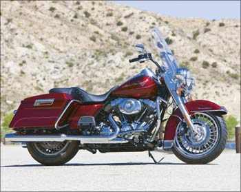 The FLHR Road King from Harlye-Davidson.