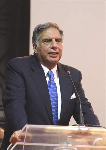 Ratan Tata, chairman of Tata Group.