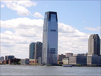 Goldman Sachs tower.