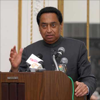 Road Transport and Highways Minister Kamal Nath addressing a gathering in New York.