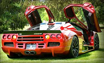 Super car Ultimate Aero.