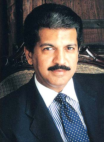 Anand Mahindra, managing director, Mahindra and Mahindra.