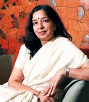 Shikha Sharma, CEO of Axis Bank.