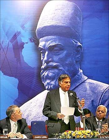 Ratan Tata, chairman, Tata Group.