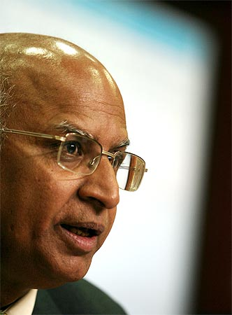 S Ramadorai, retiring CEO of Tata Consultancy Services.