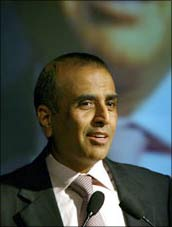 Image: Bharti Airtel chairman Sunil Mittal. Photograph: Reuters