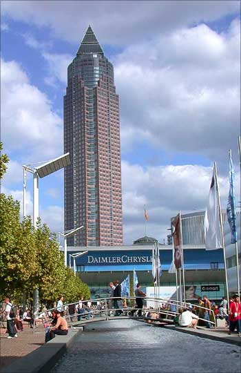 Trade Fair Tower, Frankfurt.