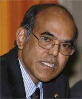 Reserve Bank of India Governor D Subbarao