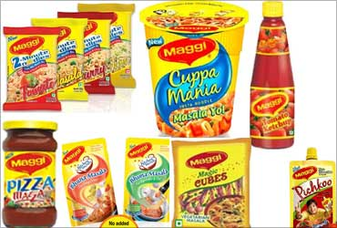 Nestle strives for products with nutrition.