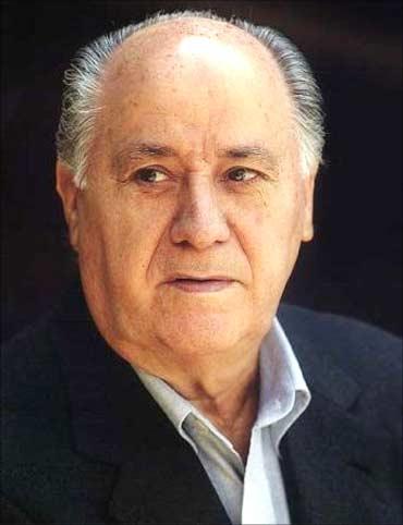 Amancio Ortega Gaona.