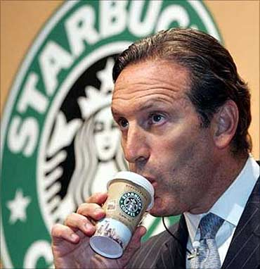 Howard Schultz, chairman and CEO, Starbucks.