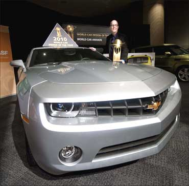 Chevrolet Camaro, with Tom Peters, General Motors Design Director of Performance Vehicles.