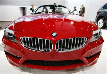 The 2011 BMW Z4 Roadster.