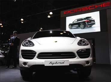 The 2011 Porsche Cayenne S Hybrid.