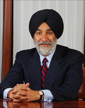 Analjit Singh, founder and chairman of Max India.