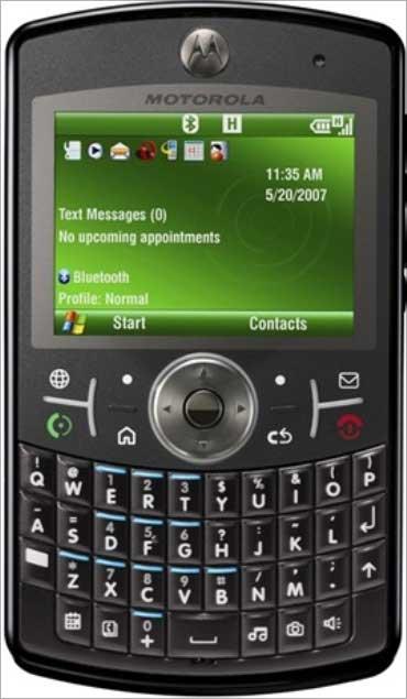Motorola Q9h.