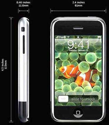 Apple iPhone 3GS.