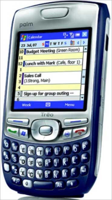 Palm Treo 750.