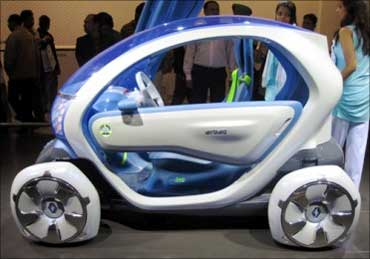 Renault Twizzy.