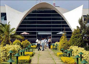 Infosys Technologies campus in Electronics City, Bangalore.