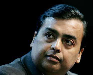 Mukesh D Ambani, chairman and managing director, Reliance Industries